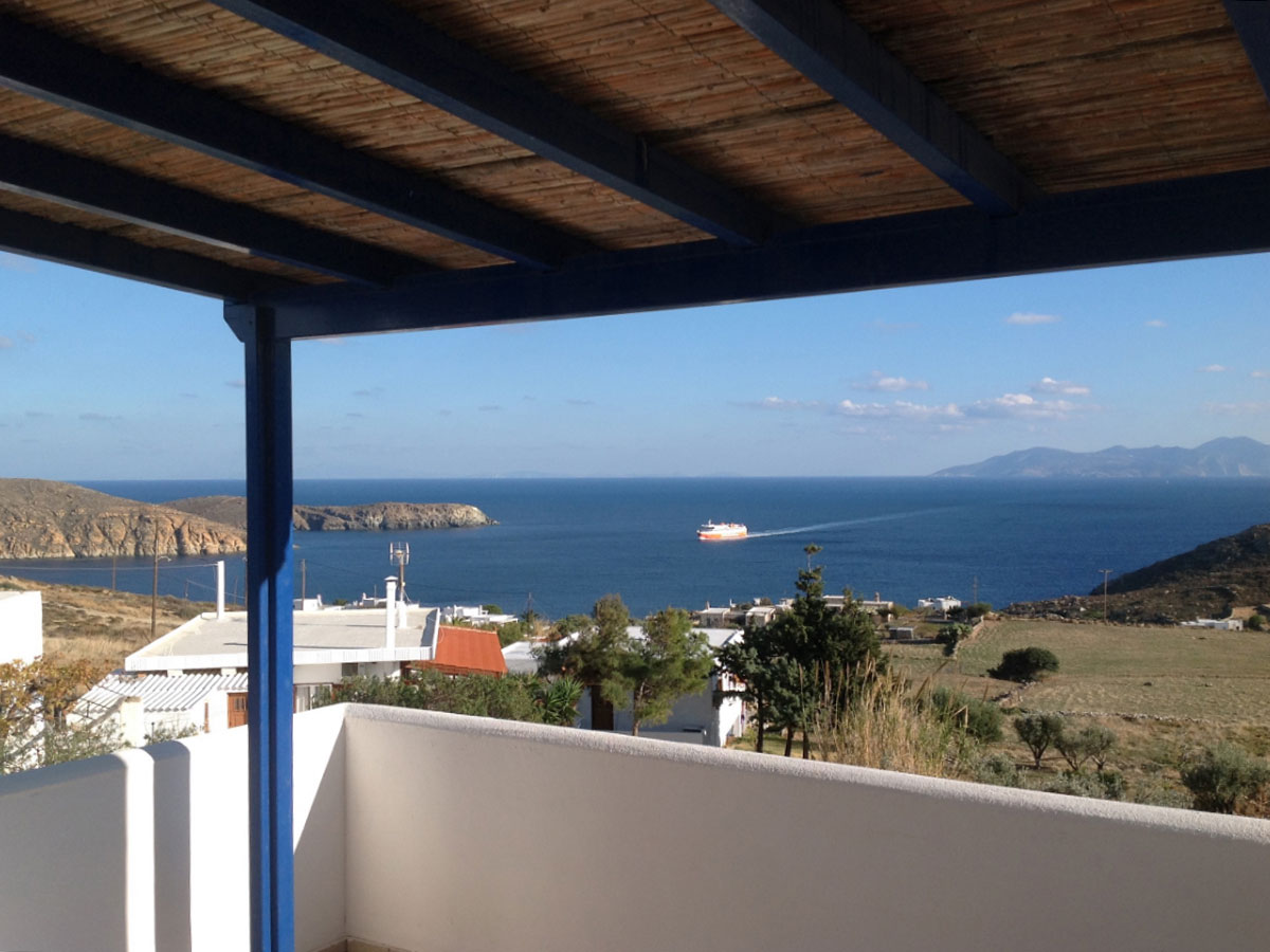Maisonette in Serifos with two bedrooms and kitchen