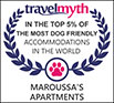 Certificazione Dog Friendly per Maroussa à Serifos