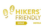 Certification hiker's friendly Gold for Maroussa's in Serifos